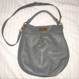 Marc by Marc Jacobs Gray Hobo Bag
